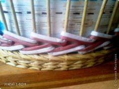 Декор предметов Поделка изделие Декупаж Плетение От мала до велика Банки стеклянные Бумага газетная Салфетки Трубочки бумажные фото 9