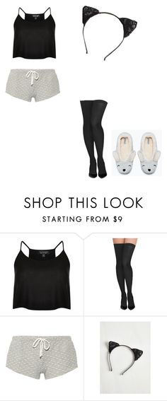 """""""Untitled #711"""" by danithemermaid on Polyvore featuring Topshop, Commando, Eberjey, women's clothing, women, female, woman, misses and juniors"""