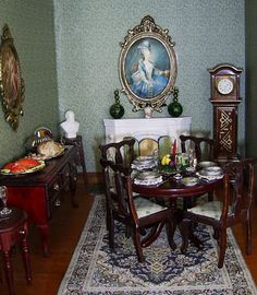 dolls houses and minis: Interior Decorating for an Edwardian Dolls House - Part 1