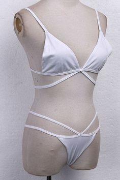 2017 Women Triangle Beachwear Swimsuit Bathing Push Up Bikini Bra Sets Swimwear Swimsuit Bathing beach Bikinis Set