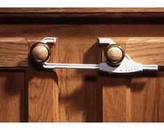 Sliding Cabinet Lock by KidCo, $4.95