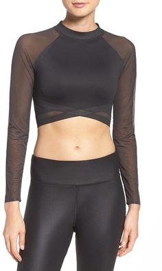 ecddc0855e7fc Women s Reebok Cardio Crop Top Workout Tops For Women
