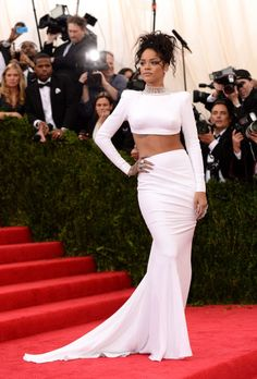 At the Met Gala on May 5, 2014, in New York City.
