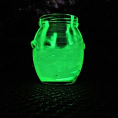 Create glow-in-the-dark jars for your outdoor space.