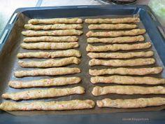 Ζουζουνομαγειρέματα: Κριτσίνια νηστίσιμα με καρότο της Ελένης! Sausage, Meat, Food, Sausages, Essen, Meals, Yemek, Eten, Chinese Sausage