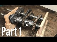 3 speed and reverse go kart gearbox home made Build A Go Kart, Diy Go Kart, Go Kart Engines, 308 Gti, Eletric Bike, Go Kart Frame, Homemade Go Kart, Go Kart Parts, Electric Go Kart