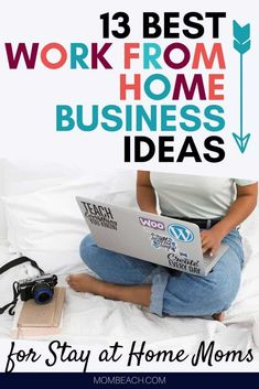 These top work from home business ideas are great for stay at home moms. Start your own online business today and work from home in your PJs. Remote work is easier and less time consuming then commuting to an onsite job. Work from home now! Work From Home Business, Online Work From Home, Work From Home Jobs, Business Ideas, Online Business, Make Quick Money, Make Money From Home, Small Business Entrepreneurship, Unique Jobs