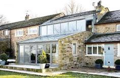 Image result for lean to extension ideas two floor