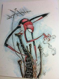 Spidey Commission Comic Art