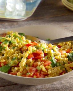 Corn Salad Recipe..grill or roast the corn  and the peppers add a touch of cayenne pepper FABULOUS