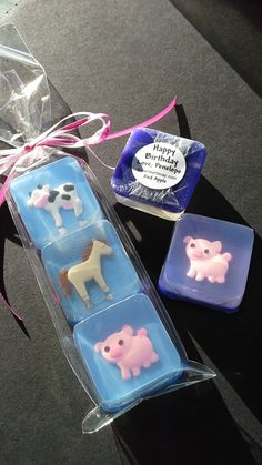 Farm Animal Soap Favors by SoapFavor on Etsy