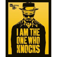 Mini Poster Breaking Bad I am the one who knocks