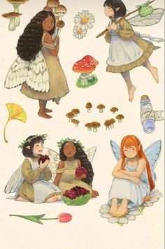 Pretty Art, Cute Art, Arte Sketchbook, Wow Art, Fairy Art, Aesthetic Art, Cute Drawings, Cartoon Art, Art Sketches