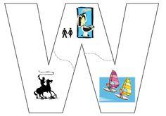 Letter W, Indoor Activities For Kids, Janina, Preschool Themes, Language, Classroom, Teaching, Education, Logos