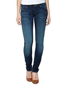Levi's Juniors Jeans, 524 Skinny Dark Wash. The perfect skinny jeans for a 5-foot-nothing girl!