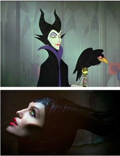 2014 Disney movie: Maleficent starring Angelina Jolie