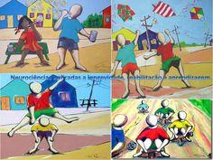 pinturas sobre brincadeiras - Pesquisa Google