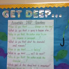 Accountable Talk - like the fishing concept to go with it!