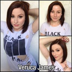 Veruca Jame without makeup