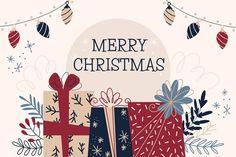 Merry Christmas Message, Merry Christmas Background, Christmas Text, Christmas Fonts, Christmas Design, Christmas Angels, Christmas Themes, Vector Christmas, Design Plano