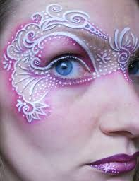 Facepaint mask   RE- PINNED By: Steve Augle Pro PHOTOGRAPHER ~ Open to photo Your ART!
