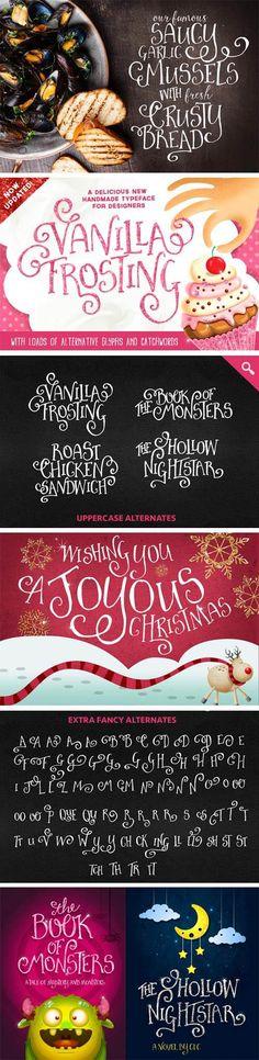 Vanilla Frosting Font Family
