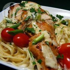 Creamy Chicken Linguine @ allrecipes.co.uk