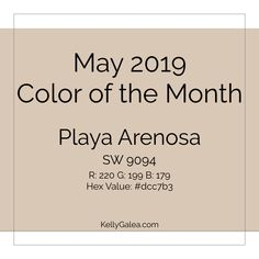 Look around. Are you seeing past desires for meaning and meaningful experi­ences made manifest? Here's your forecast & color of the month for May 2019 ...