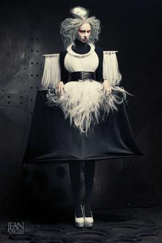 hex by Jean Osipyan, via Behance #fashion #editorial #black #dark