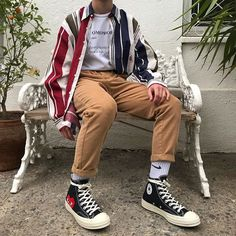 65 Ideas For Style Street Urban Jeans Aesthetic Fashion, Aesthetic Clothes, Look Fashion, Korean Fashion, Fashion Outfits, Mens Fashion, Street Fashion, Fashion Menswear, Guy Fashion