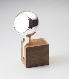 "Yve Hand Mirror 1 by ""THmanufacture"" design Maarten Baptist"