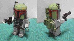 Star Wars - Lego Boba Fett Free Papercraft Download - http://www.papercraftsquare.com/star-wars-lego-boba-fett-free-papercraft-download.html#BobaFett, #Lego, #StarWars