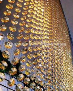 #beaded curtain, #crystal curtains for wedding decor, #crystal beaded door curtain