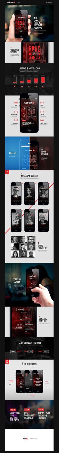 WebFest – iPhone App