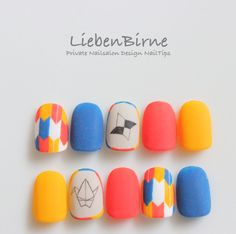 """Determine even more info on """"trending nail designs nail art"""". Check out our website. Easy Nail Art, Cool Nail Art, Love Nails, Pretty Nails, Asian Nails, Korean Nail Art, Almond Acrylic Nails, Modern Nails, Happy Nails"""
