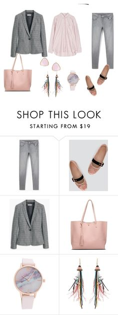 """""""look del dia"""" by aliciagorostiza ❤ liked on Polyvore featuring MANGO, Etro and Ottoman Hands"""