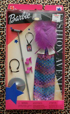Barbie Fashion Avenue Doll Clothes Rock Star 56551 2002 VHTF RARE | eBay