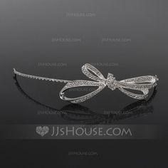 Headpieces - $22.39 - Beautiful Crystal Rhinestone Headpiece (042017817) http://jjshouse.com/Beautiful-Crystal-Rhinestone-Headpiece-042017817-g17817