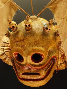 Tibetan Mask by Tolka Rover, via Flickr