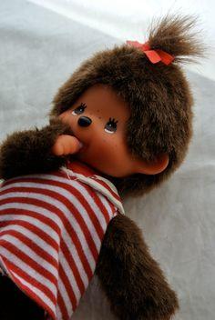MONCHHICHI Monchichi Sekiguchi Sailor Baby Monkey by Misskitschy