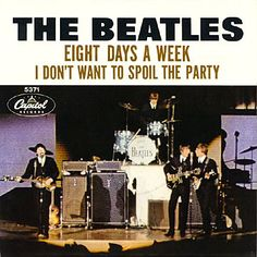 """""""Eight Days A Week"""" by The Beatles. The in-depth story behind the songs of the Beatles. Song Structure and Style. Beatles Songs, Beatles Poster, Uke Songs, Beatles Photos, Liverpool, Beatles Album Covers, Classic Rock Albums, Lennon And Mccartney, Lp Cover"""