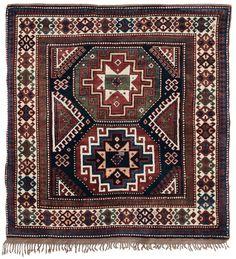 Tappeto caucasico Kasak, fine XIX secolo from cambi casa d'este