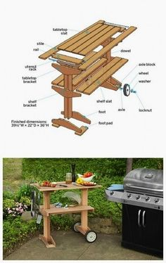 First, make the tabletop; then, build and install the base to create this handsome patio piece, with the help of TOH contributor Christopher Beidel, owner of Pernt, in Brooklyn, New York. #WoodworkIdeas