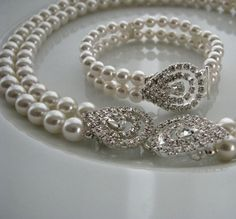 pearls and diamonds  -