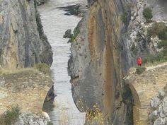 Puente del DIablo Foz de Lumbier #TurismoNavarra   #BardenasNavarra  #navarraNaturalmente