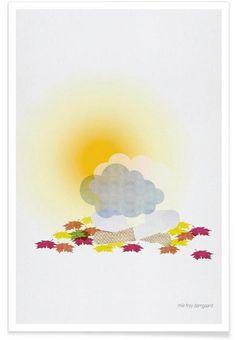 In Harmony en Affiche premium par Mie Frey Damgaard Art Mural, Art En Ligne, Diagram, Map, Illustration, Poster, Inspiration, Wall Posters