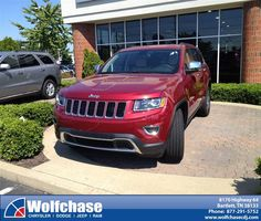 #HappyAnniversary to George Moseley on your 2014 #Jeep #Grand Cherokee from James Kristensen at Wolfchase Chrysler Jeep Dodge!