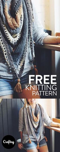 Whether you're warming up to a hot cup of joe or popping in to cool off with an iced coffee, the Coffee Shop knitted Wrap pattern has you covered - literally.