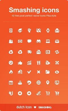 Smashing icons