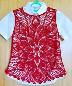 Crochet Sweaters: Crochet Vest Pattern - Wonderful